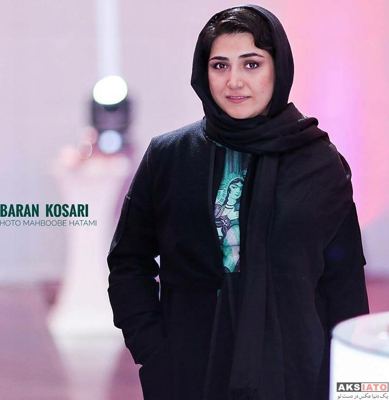 بازیگران بازیگران زن ایرانی  باران کوثری در اکران خصوصی فیلم سد معبر (5 عکس)
