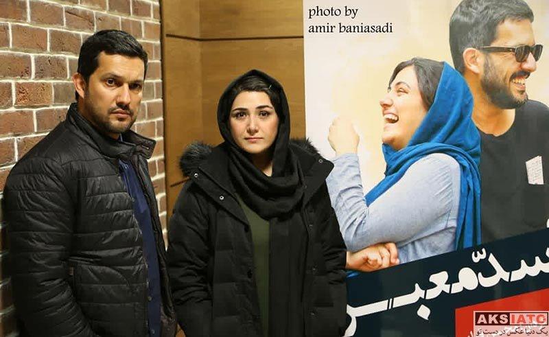 بازیگران بازیگران زن ایرانی  باران کوثری و حامد بهداد در اکران مردمی فیلم سد معبر (5 عکس)