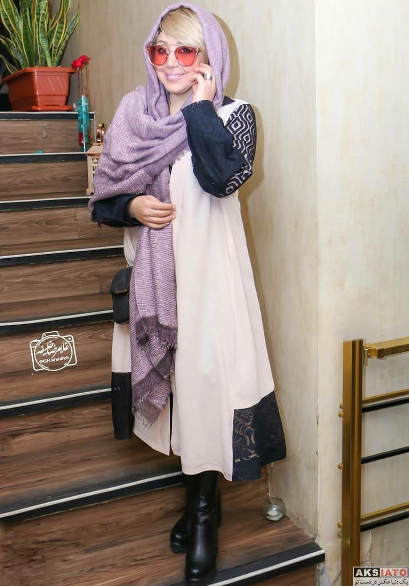 بازیگران بازیگران زن ایرانی  بهنوش بختیاری در مراسم افتتاحیه فیلم آرینا (4 عکس)