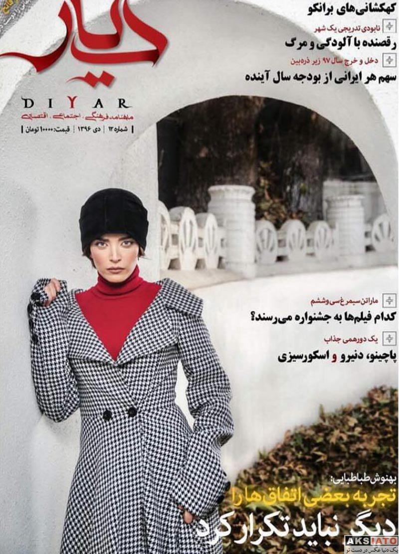 بازیگران بازیگران زن ایرانی  عکس های بهنوش طباطبایی در دی ماه ۹۶ (4 تصویر)