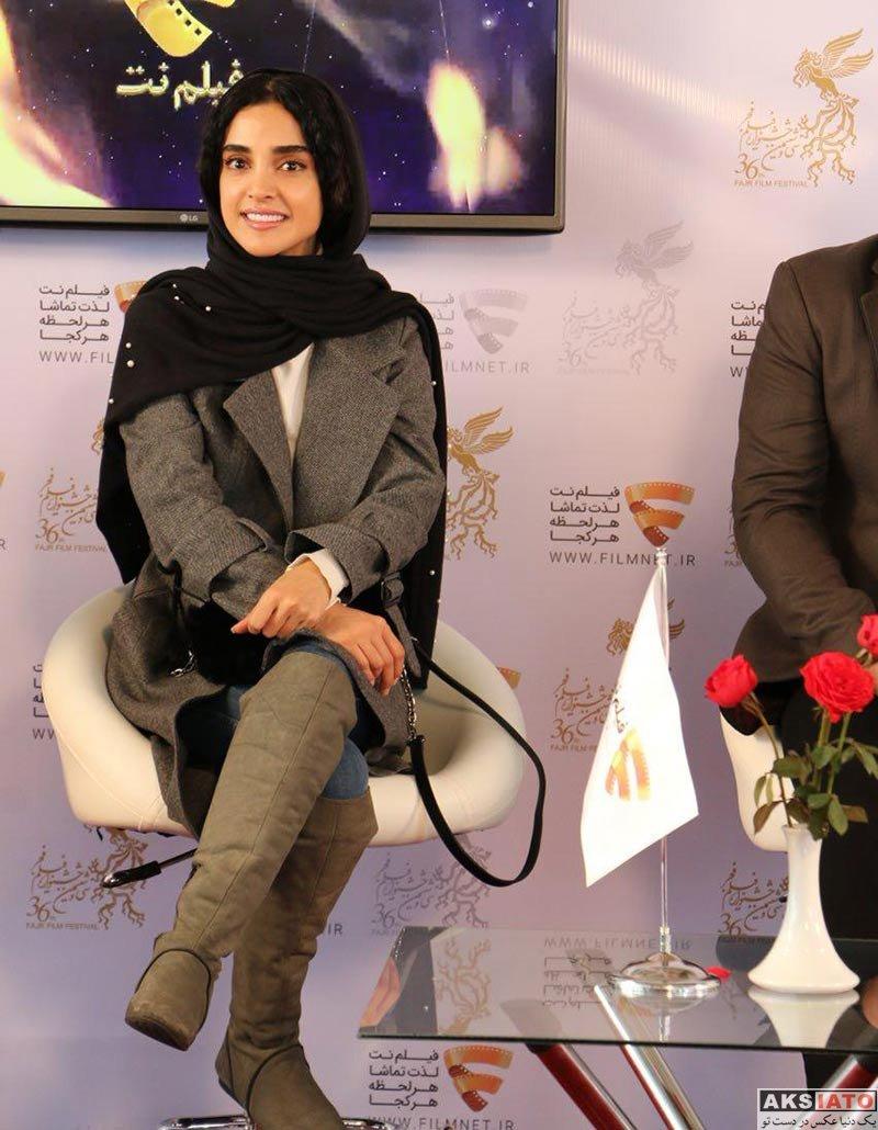 بازیگران بازیگران زن ایرانی  الهه حصاری در برنامه دو قدم مانده به سیمرغ (6 عکس)