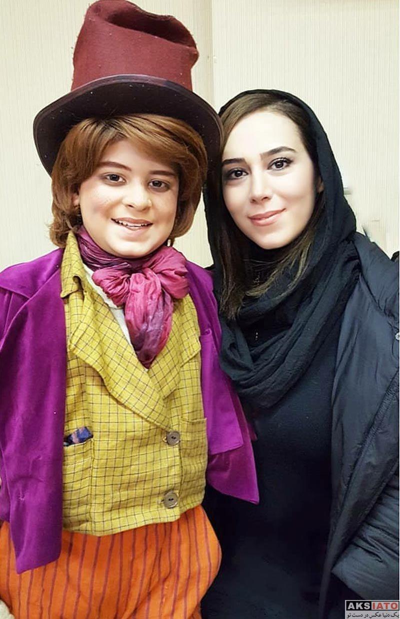 بازیگران بازیگران زن ایرانی  الهام جعفرنژاد در اجرای نمایش الیور توئیست (3 عکس)