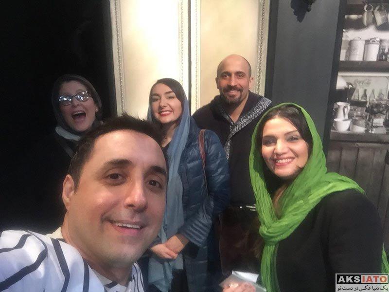 بازیگران بازیگران زن ایرانی  الهام پاوه نژاد در اجرای نمایش خشم و هیاهو (2 عکس)
