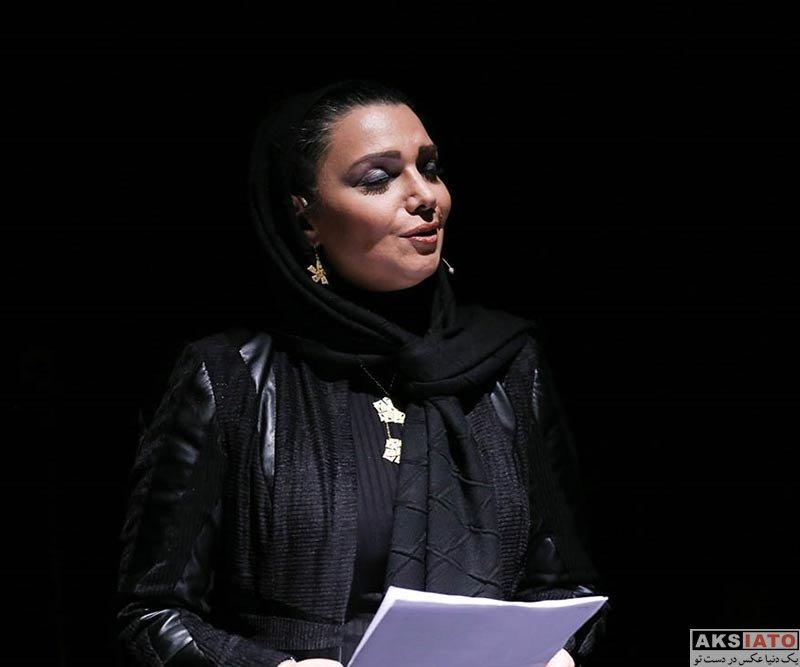 بازیگران بازیگران زن ایرانی  الهام پاوه نژاد در اجرای کنسرت تکرار نا منظم بی تو (۴ عکس)