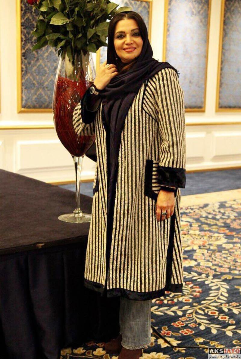 بازیگران بازیگران زن ایرانی  الهام پاوه نژاد در جشن تولد استاد لوریس چکناواریان (4 عکس)