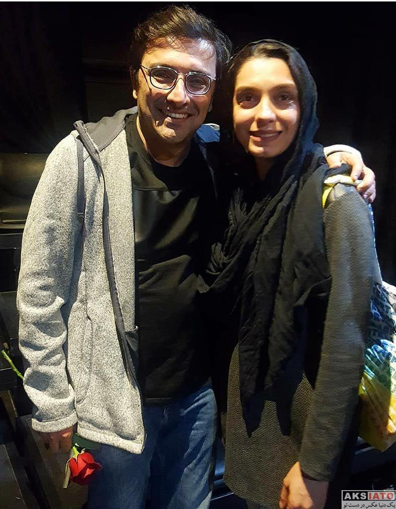 خانوادگی  عکس های الیکا عبدالرزاقی و همسرش در دی ماه ۹۶ (5 تصویر)