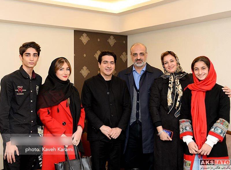 خانوادگی  محمد اصفهانی و خانواده اش در کنسرت ایران من