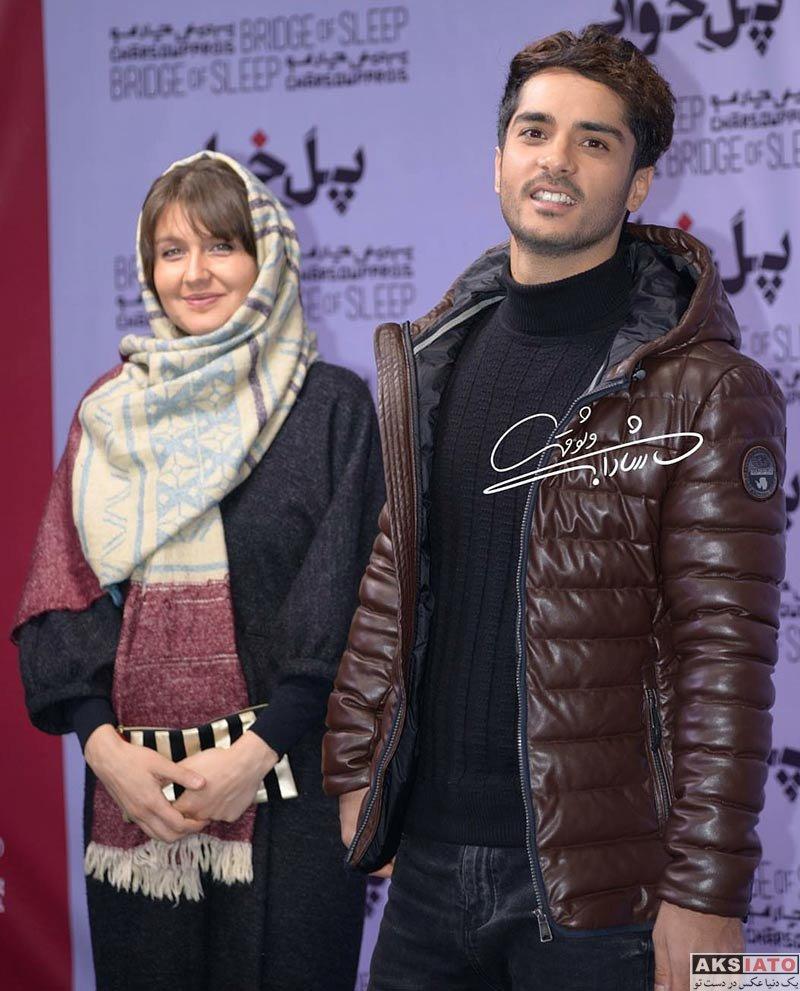 بازیگران بازیگران زن ایرانی گلوریا هاردی در اکران خصوصی فیلم پل خواب (4 عکس)
