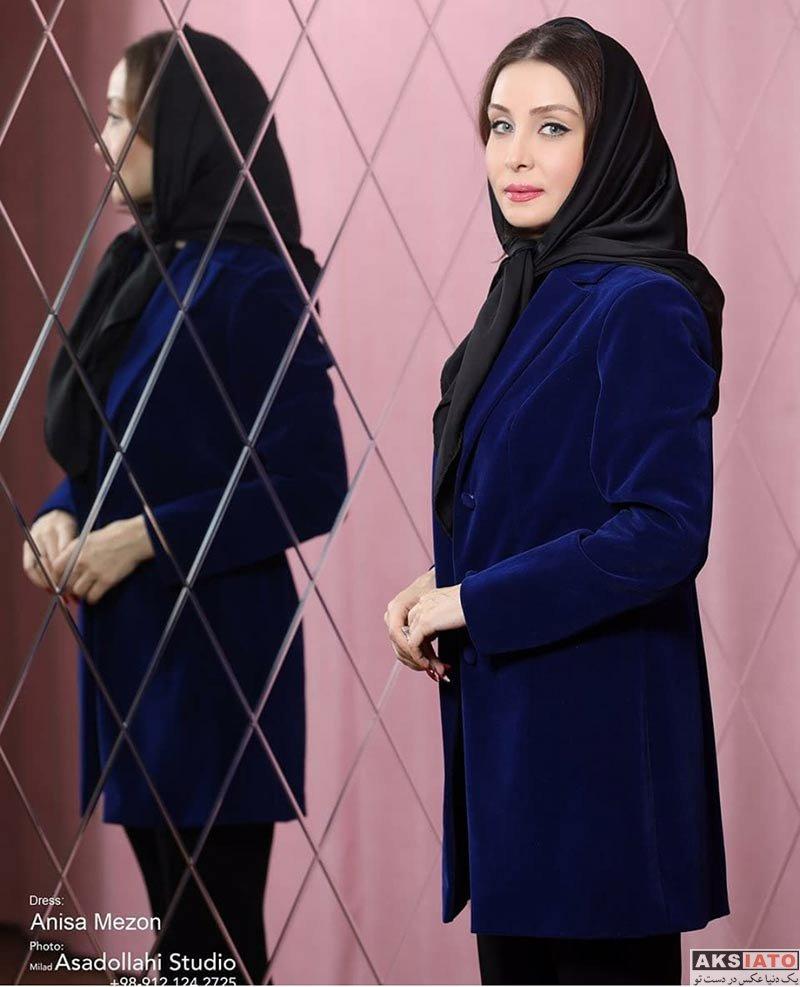 بازیگران بازیگران زن ایرانی  عکس های تبلیغاتی حدیث فولادوند برای مزون آنیسا (6 عکس)