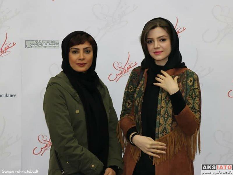بازیگران بازیگران زن ایرانی حدیثه تهرانی در اولین اکران مردمی فیلم عشقولانس (6 عکس)