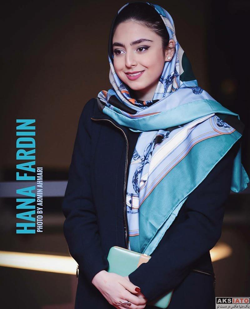 بازیگران بازیگران زن ایرانی حنا فردین در اکران خصوصی فیلم پل خواب (3 عکس)