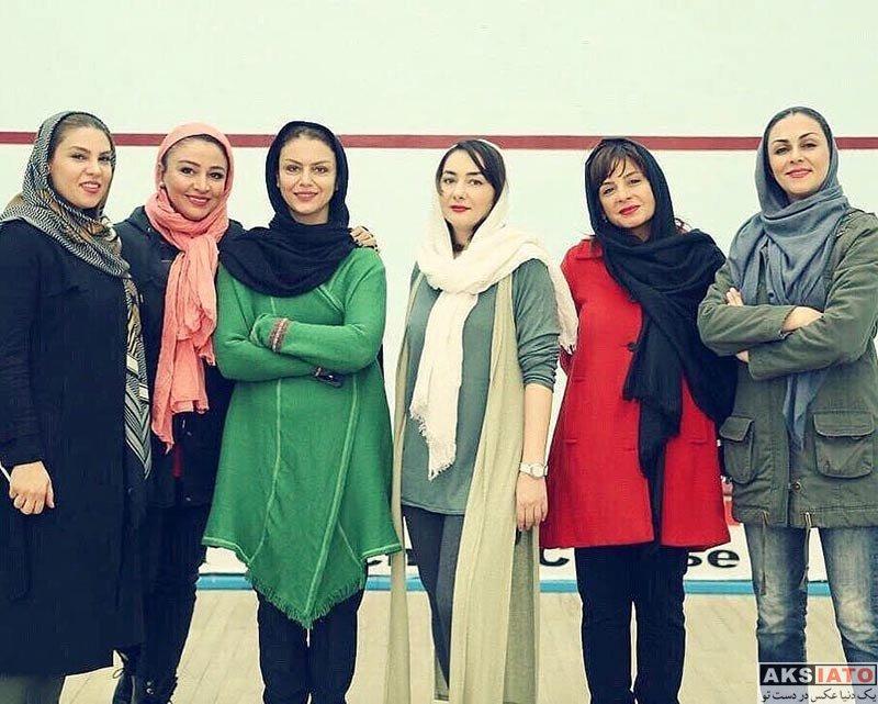 بازیگران بازیگران زن ایرانی  عکس های هانیه توسلی در دی ماه ۹۶ (7 تصویر)