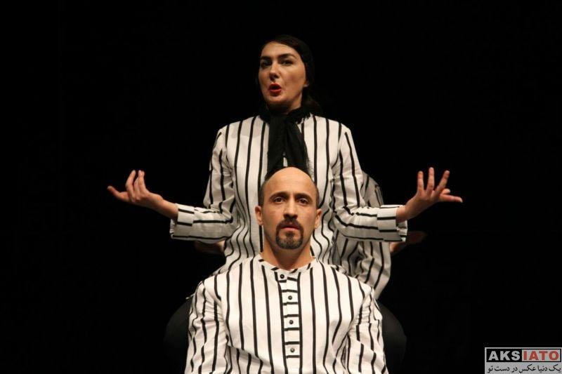 بازیگران بازیگران زن ایرانی  هانیه توسلی در نمایش خشم و هیاهو (5 عکس)
