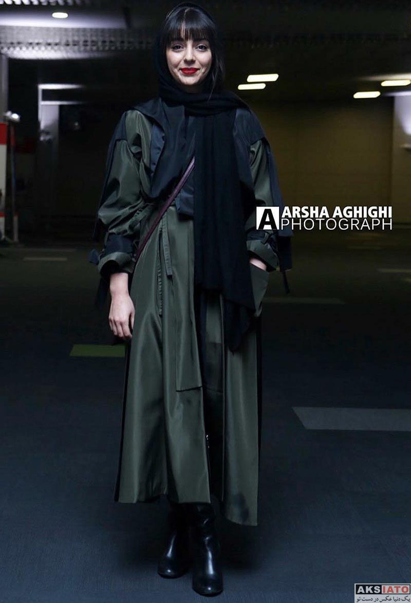 بازیگران بازیگران زن ایرانی هستی مهدوی در اکران خصوصی فیلم پل خواب (9 عکس)
