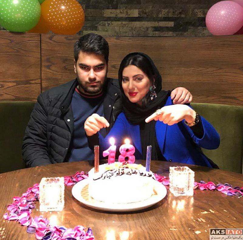 بازیگران بازیگران زن ایرانی  هلیا امامی در جشن تولد برادرش (2 عکس)