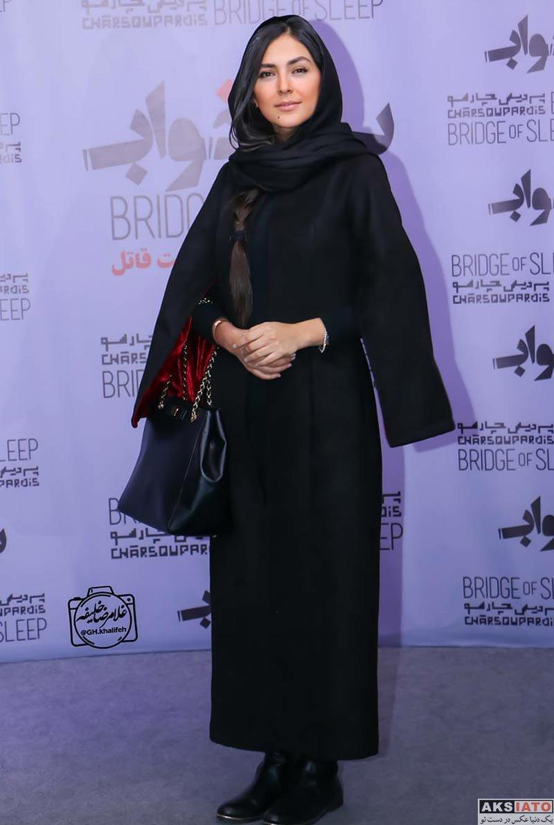 بازیگران بازیگران زن ایرانی هدی زین العابدین در اکران خصوصی فیلم پل خواب (6 عکس)