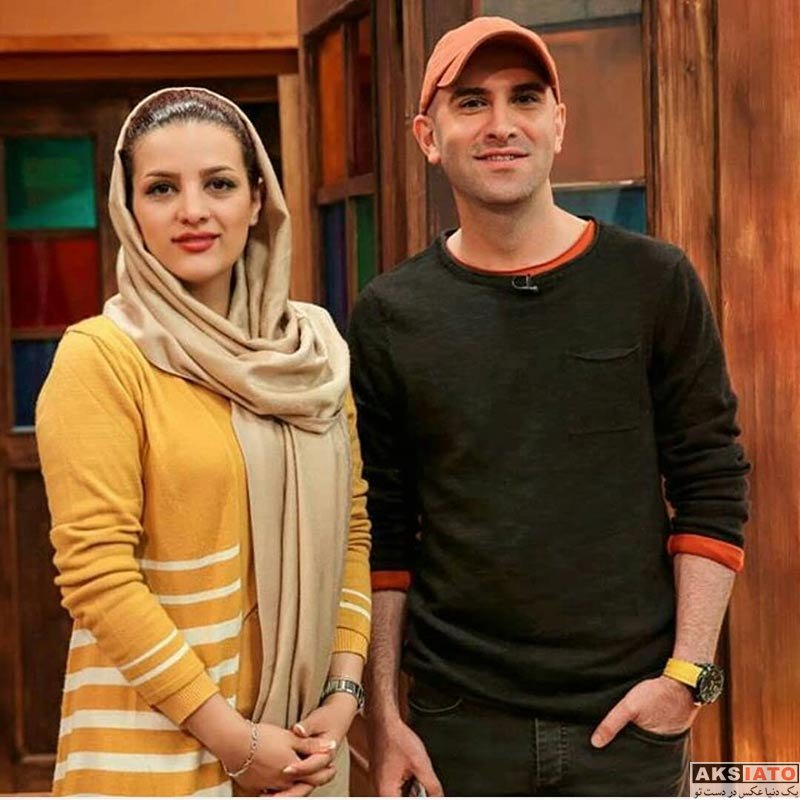 بازیگران بازیگران مرد ایرانی  هوتن شکیبا در برنامه کتاب باز (2 عکس)