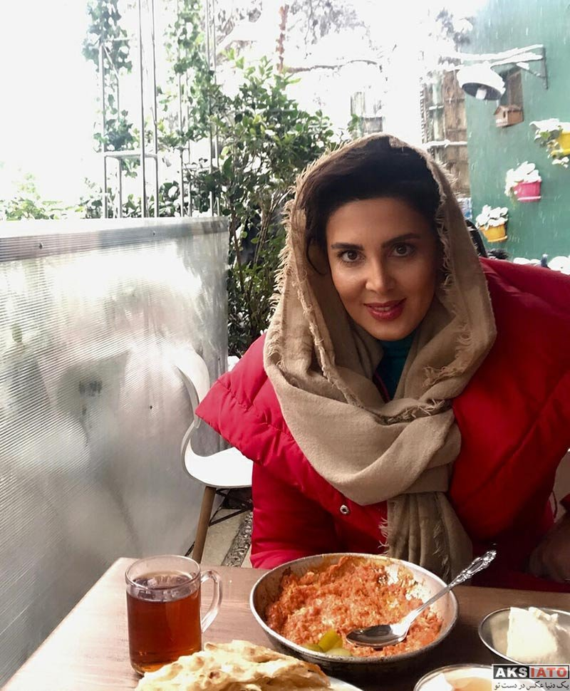 بازیگران بازیگران زن ایرانی  لیلا بلوکات در روز برفی تهران (3 عکس)