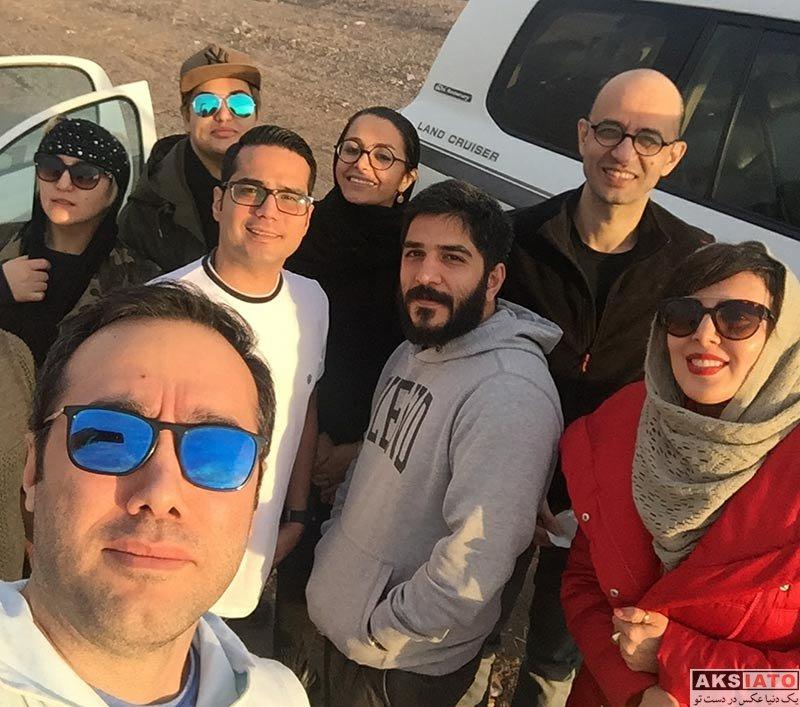 بازیگران بازیگران زن ایرانی  لیلا بلوکات در مناطق زلزله زده کرمانشاه (4 عکس)