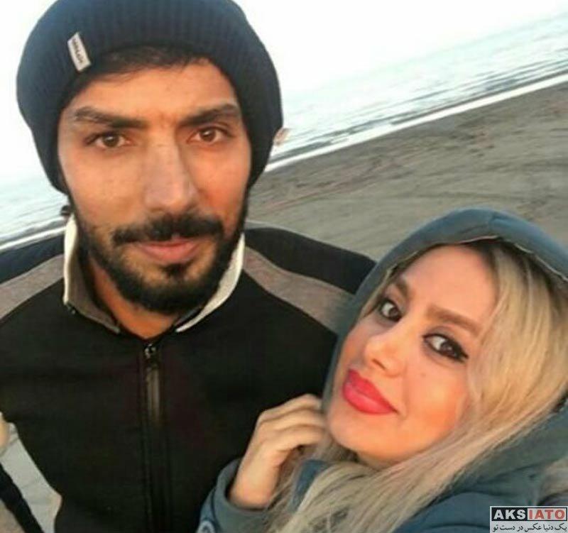خانوادگی  سلفی سید مهدی سید صالحی با همسرش