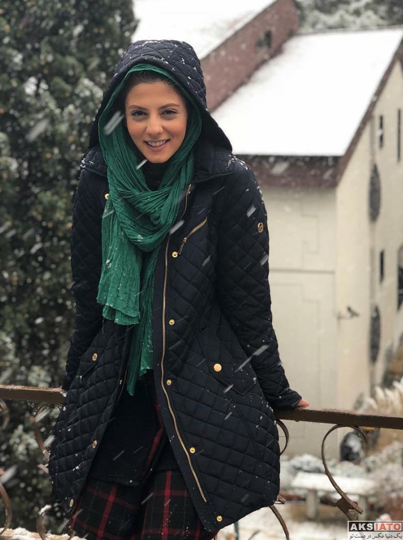 بازیگران بازیگران زن ایرانی  عکس های مهسا طهماسبی در دی ماه 96 (5 تصویر)