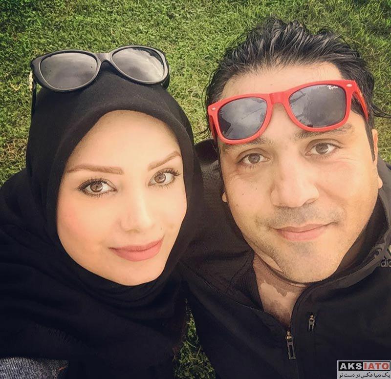 خانوادگی  عکس های صبا راد و همسرش مانی رهنما در دی 96 (5 عکس)