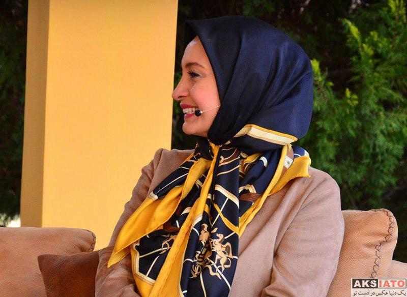بازیگران بازیگران زن ایرانی  مریم کاویانی در برنامه زنده رود (۴ عکس)