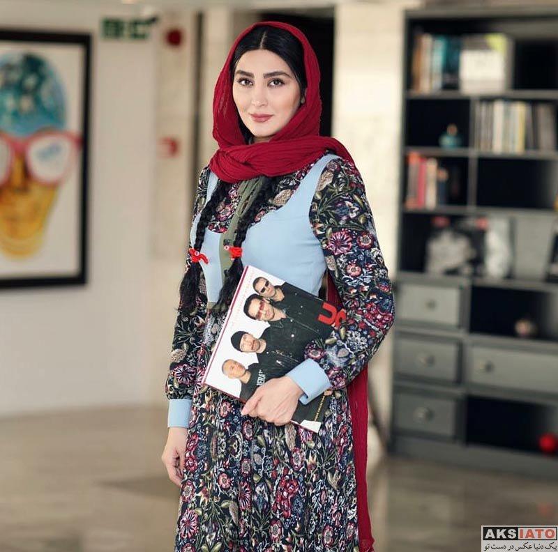 بازیگران بازیگران زن ایرانی  عکس های مریم معصومی در دی ماه ۹۶ (10 تصویر)
