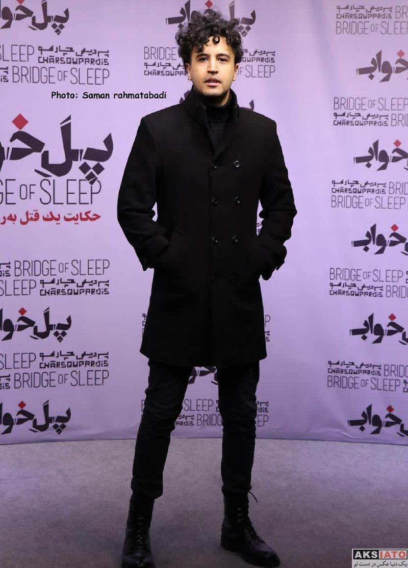 بازیگران بازیگران مرد ایرانی  مهرداد صدیقیان در اکران خصوصی فیلم پل خواب (۳ عکس)