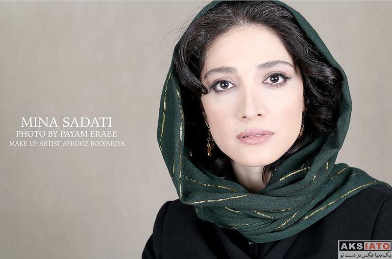 عکس آتلیه و استودیو  عکس های آتلیه جدید مینا ساداتی