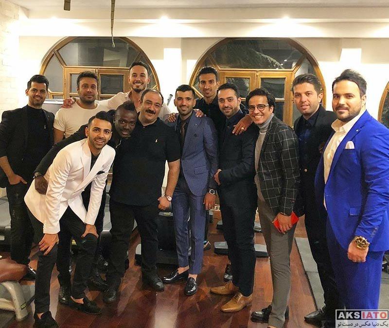 جشن تولد ها ورزشکاران ورزشکاران مرد  جشن تولد محسن مسلمان با حضور هنرمندان مطرح (6 عکس)