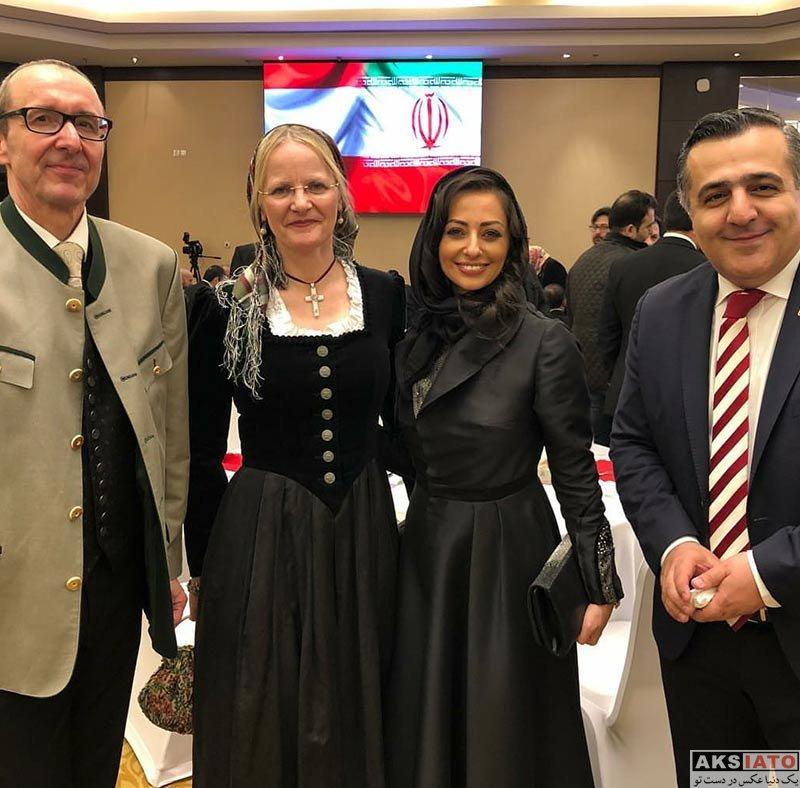 بازیگران بازیگران زن ایرانی  نفیسه روشن در جشنواره غذای اتریشی (3 عکس)