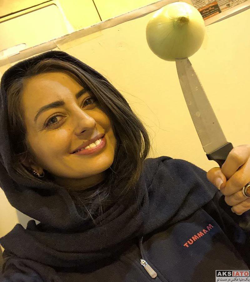 بازیگران بازیگران زن ایرانی  عکس های نفیسه روشن در دی ماه ۹۶ (5 تصویر)