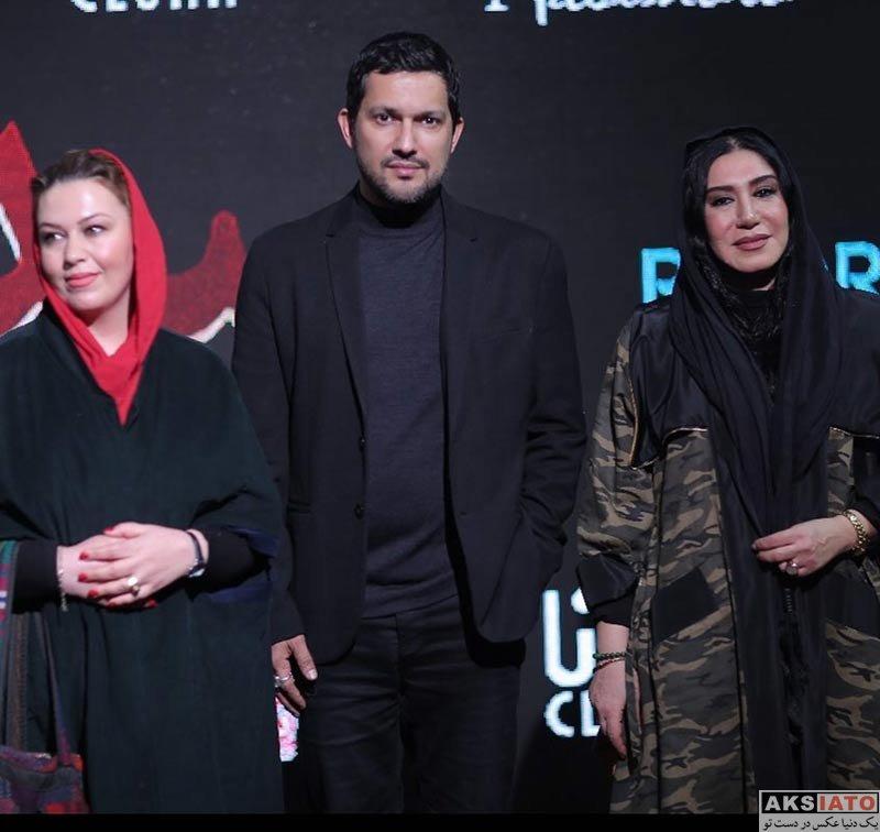 بازیگران بازیگران زن ایرانی  نسیم ادبی در اکران خصوصی فیلم سد معبر (۲ عکس)