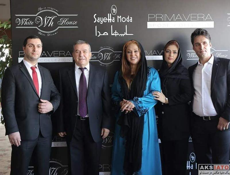 بازیگران بازیگران زن ایرانی  نسرین مقانلو در شهر ازمیر کشور ترکیه (3 عکس)
