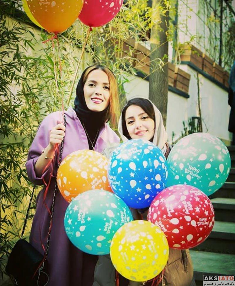 بازیگران بازیگران زن ایرانی جشن تولد ها  جشن تولد 28 سالگی نازنین بیاتی (3 عکس)