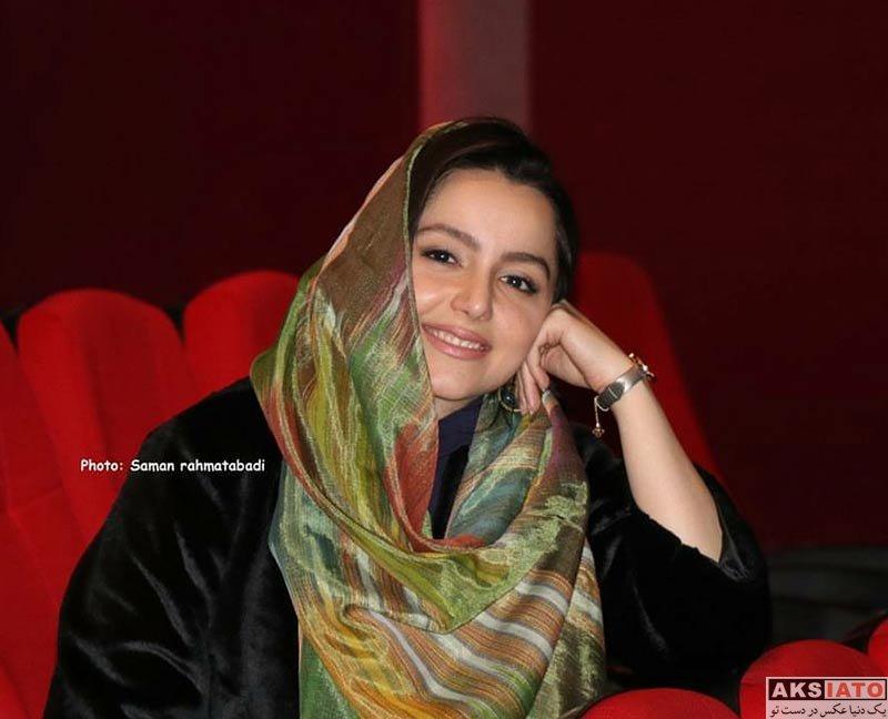 بازیگران بازیگران زن ایرانی  نازنین بیاتی در دومین اکران مردمی فیلم آینه بغل (5 عکس)