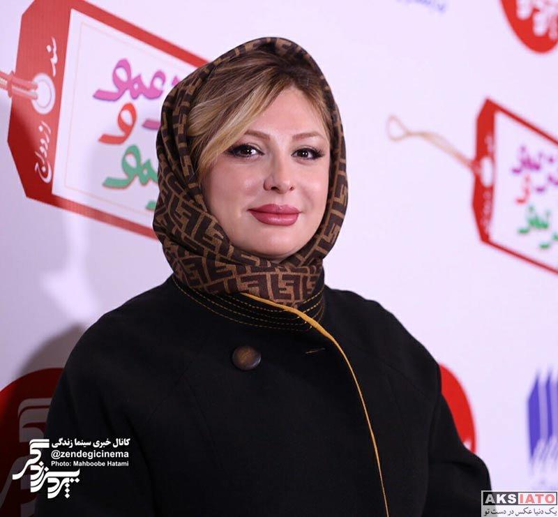 بازیگران بازیگران زن ایرانی  نیوشا ضیغمی در دومین اکران مردمی فیلم دختر عمو و پسر عمو (5 عکس)