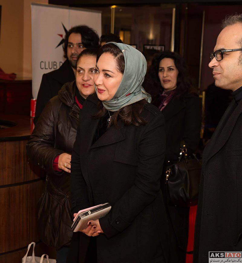 بازیگران بازیگران زن ایرانی  نیکی کریمی در اکران فیلم آذر در فرانسه (5 عکس)