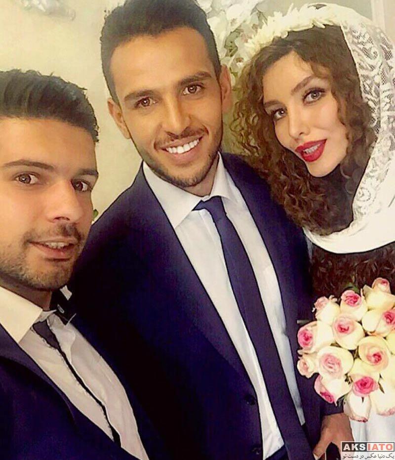 خانوادگی  اولین عکس مراسم ازدواج رسمی یعقوب کریمی و نیکی محرابی