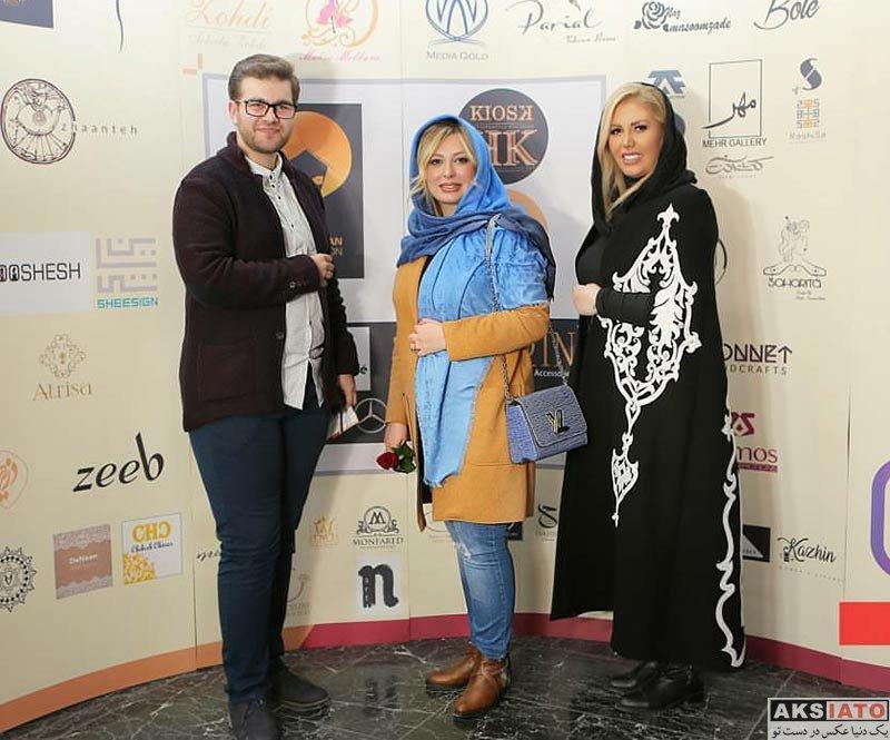 بازیگران بازیگران زن ایرانی  نیوشا ضیغمی در رویداد طراحان برتر لباس (2 عکس)
