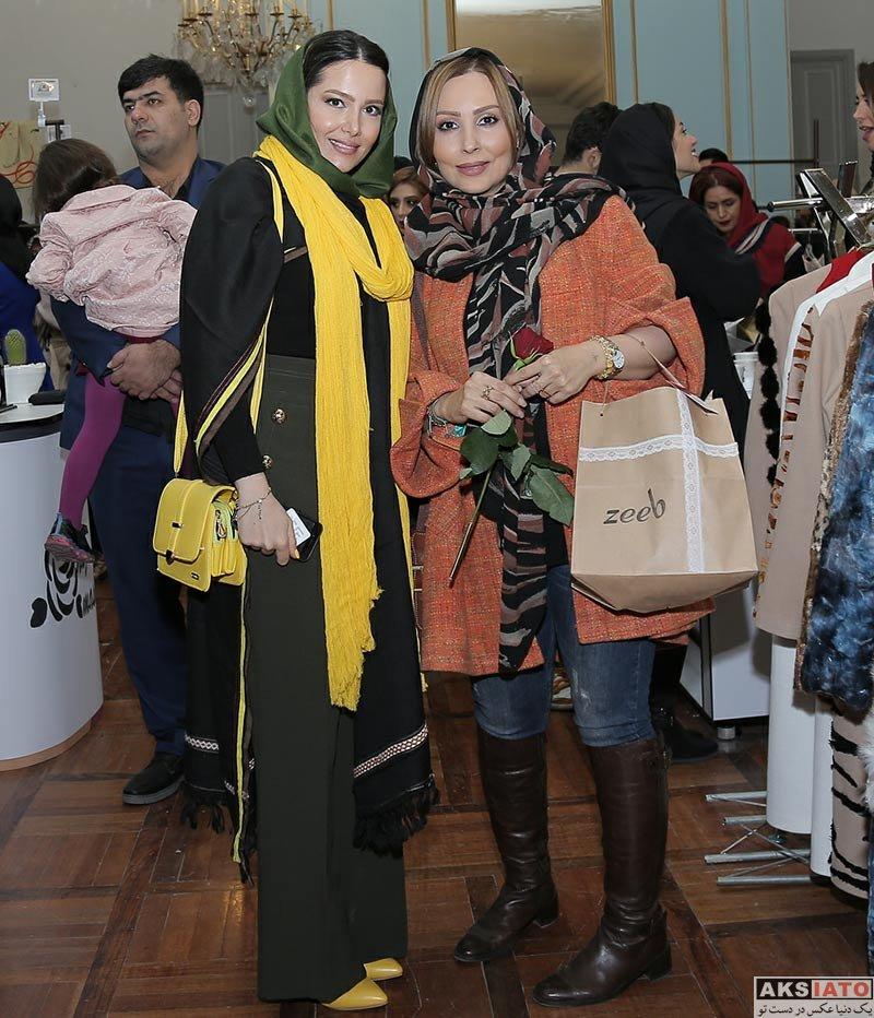 بازیگران بازیگران زن ایرانی  پرستو صالحی در رویداد طراحان برتر لباس (4 عکس)