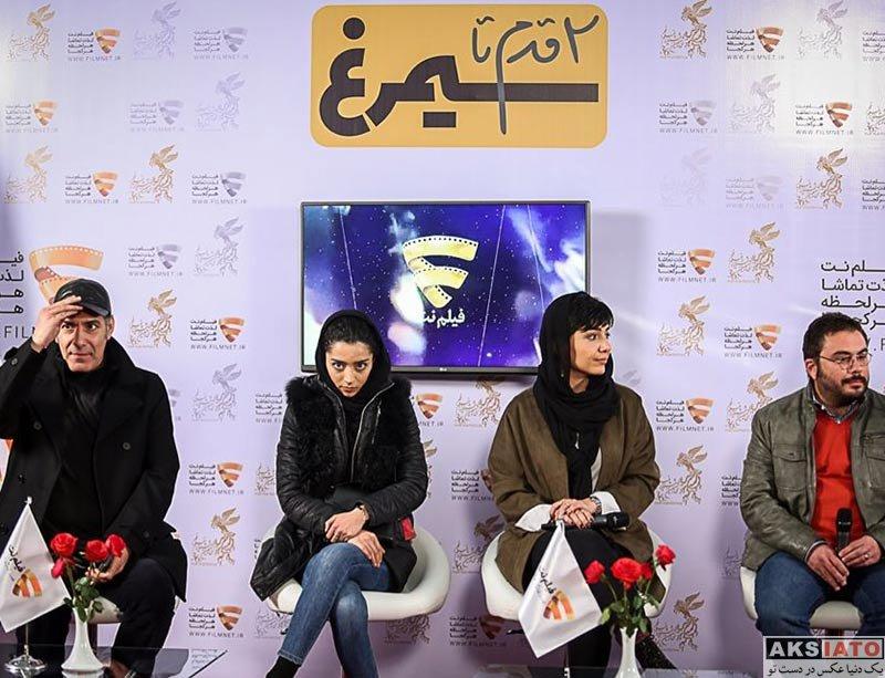 بازیگران بازیگران زن ایرانی  ساغر قناعت در برنامه دو قدم مانده به سیمرغ (4 عکس)