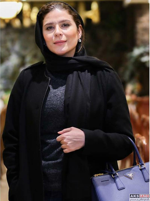 بازیگران بازیگران زن ایرانی  سحر دولتشاهی در جشن سریال ساخت ایران 2 (3 عکس)