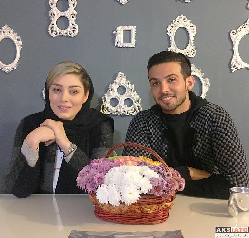 بازیگران بازیگران زن ایرانی  عکس های سحر قریشی در دی ماه ۹۶ (8 تصویر)
