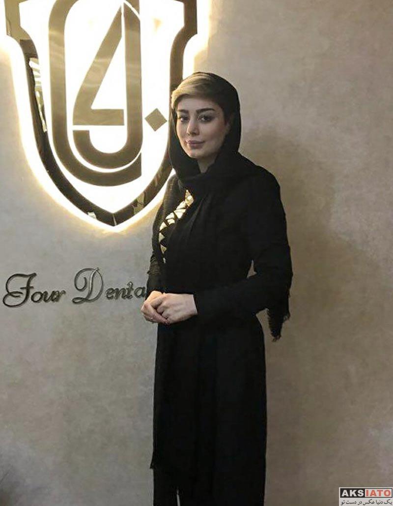 بازیگران بازیگران زن ایرانی  سحر قریشی در مرکز دندانپزشکی فور (2 عکس)