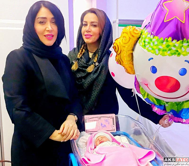 بازیگران بازیگران زن ایرانی  سارا منجزی در کنار فرزند آهنگساز معروف (2 عکس)