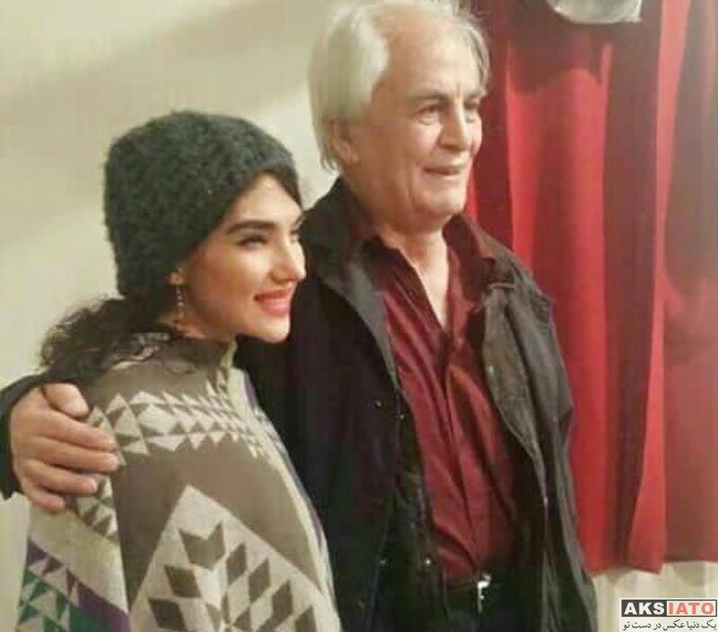 بازیگران بازیگران زن ایرانی  عکس های سارا رسول زاده در دی ماه ۹۶ (5 تصویر)