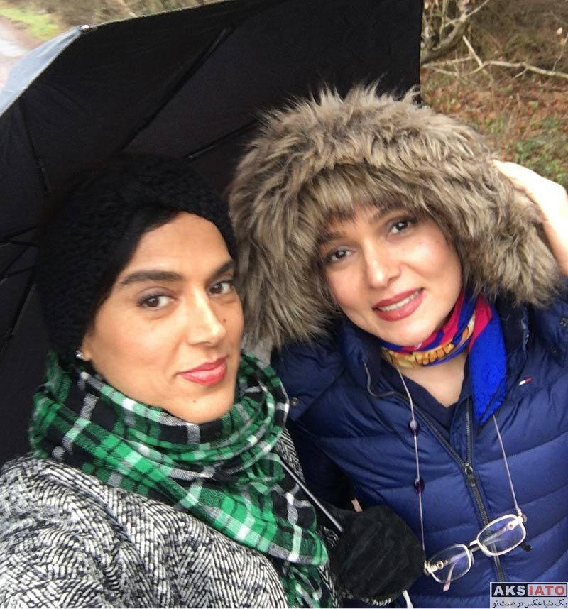 بازیگران بازیگران زن ایرانی  سپیده علایی به همراه دوستش در کشور آلمان (4 عکس)