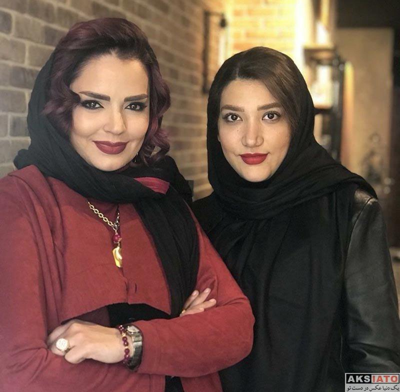 بازیگران بازیگران زن ایرانی  سپیده خداوردی با مدل موی جدید سال زیبایی (3 عکس)
